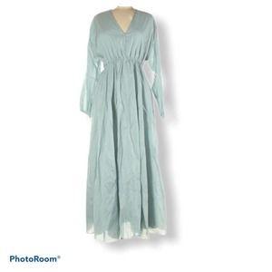 Textile Elizabeth and James blue maxi dres M